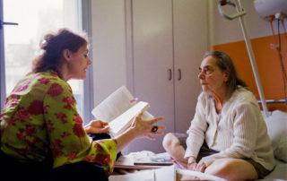 Lecture au chevet avec Laure Sirieix